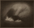 Photographs:20th Century, EDWARD JEAN STEICHEN (American, 1879-1973). Nude with Cat, from Camera Work Vol. 2 Page 39, 1902-03. Halftone. 4-1/2 x 5...
