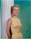 , HARRY WARNECKE and GUS SCHOENBACHLER (American, 20th Century). Inger Stevens, June 20th, 1957. Vintage carbro. Paper: 17...