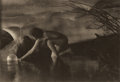 Photographs:20th Century, ANNE W. BRIGMAN (American, 1869-1950). The Bubble, from CameraWork Vol. 25 Page 13, 1909. Photogravure. 6-3/8 x 9-1/4 i...