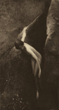 Photographs:20th Century, ANNE W. BRIGMAN (American, 1869-1950). Untitled .Photogravure. 5 x 9-1/2 inches (12.7 x 24.1 cm). State: on tissuetipp...