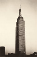 Photographs:20th Century, SHEILA METZNER (American, b. 1939). Empire State Building, From Life, 2000. Fresson, printed later. Paper: 27 x 20 inche...