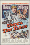 "Movie Posters:War, Under Ten Flags (Paramount, 1960). One Sheet (27"" X 41""). War.. ..."