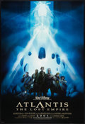 "Movie Posters:Animated, Atlantis: The Lost Empire Lot (Buena Vista, 2001). One Sheets (4) (27"" X 40"" and 27"" X 41"") DS, SS, Advance and Regular. Ani... (Total: 4 Items)"