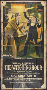 """The Witching Hour (Frohman Amusement, 1916). Three Sheet (41"""" X 79""""). Drama"""