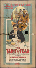 """Movie Posters:Drama, The Taint of Fear (Universal, 1916). Three Sheet (41"""" X 81""""). Drama.. ..."""