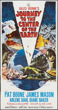 "Movie Posters:Science Fiction, Journey to the Center of the Earth (20th Century Fox, 1959). ThreeSheet (41"" X 81""). Science Fiction.. ..."