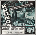 "Movie Posters:Science Fiction, Kronos (20th Century Fox, 1957). Six Sheet (81"" X 81""). ScienceFiction.. ..."