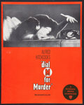 """Movie Posters:Hitchcock, Dial M For Murder Lot (Warner Brothers, 1954). Pressbooks (2) (Multiple Pages) (12"""" X 15"""") and (12"""" X 17""""). Hitchcock.. ... (Total: 2 Items)"""