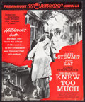 """Movie Posters:Hitchcock, The Man Who Knew Too Much (Paramount, 1956). Pressbook (MultiplePages) (12"""" X 15""""). Hitchcock.. ..."""