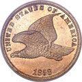 Proof Flying Eagle Cents, 1858 1C Small Letters PR63 PCGS....