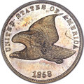 Proof Flying Eagle Cents, 1858 1C Small Letters PR62 NGC....