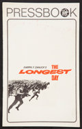 """Movie Posters:War, The Longest Day Lot (20th Century Fox, R-1969). Pressbooks (3)(8.75"""" X 14"""") and(11' X 17'). (Multiple Pages). War.. ... (Total: 3Items)"""