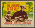"Movie Posters:Drama, The Shepherd of the Hills (Paramount, R-1955). Half Sheet (22"" X 28""). Drama.. ..."