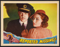 """Movie Posters:Thriller, Reported Missing (Universal, 1937). Lobby Card (11"""" X 14""""). Thriller.. ..."""