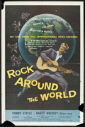 "Movie Posters:Rock and Roll, Rock Around the World Lot (American International, 1957). OneSheets (2) (27"" X 41""). Rock and Roll.. ... (Total: 2 Items)"