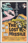 """Movie Posters:Science Fiction, The Lost Missile (United Artists, 1958). One Sheet (27"""" X 41""""). Science Fiction.. ..."""