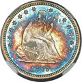 Seated Quarters, 1879 25C MS67 ★ NGC....