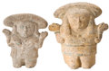 Antiques:Antiquities, A Lot of Two Nopiloa Female Figures... (Total: 2 Items)