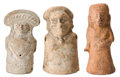 Antiques:Antiquities, A Lot of Three Female Figures... (Total: 3 Items)