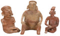 Antiques:Antiquities, A Lot of Three West Coast Figures... (Total: 3 Items)