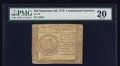 Colonial Notes:Continental Congress Issues, Continental Currency September 26, 1778 $50 PMG Very Fine 20.. ...