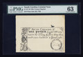 Colonial Notes:South Carolina, South Carolina June 30, 1748 £1 19th Century Reprint PMG ChoiceUncirculated 63.. ...