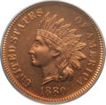 Proof Indian Cents: , 1880 1C PR65 Red and Brown PCGS. CAC. PCGS Population (55/23). NGC Census: (67/29). Mintage: 3,955. Numismedia Wsl. Price f...