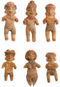 Antiques:Antiquities, A Lot of Six Chupicuaro Figures... (Total: 6 Items)