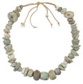 Antiques:Antiquities, Guerrero Green Stone Necklace... (Total: 2 Items)