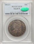Bust Half Dollars: , 1812/1 50C Small 8 VF35 PCGS. CAC. PCGS Population (10/89). NGCCensus: (0/13). Numismedia Wsl. Price for problem free NGC...