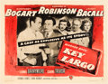 "Movie Posters:Film Noir, Key Largo (Warner Brothers, 1948). Half Sheet (22"" X 28"") Style B....."