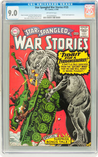 Star Spangled War Stories #125 (DC, 1966) CGC VF/NM 9.0 Off-white pages