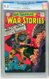 Star Spangled War Stories #126 (DC, 1966) CGC NM- 9.2 Off-white pages