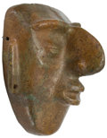 Antiques:Antiquities, Stone Mask with Prominent Nose...