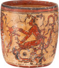 Antiques:Antiquities, Maya Polychrome Vessel...