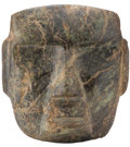 Antiques:Antiquities, A Chontal Green Stone Mask...