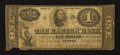 Obsoletes By State:New Hampshire, Exeter, NH- Exeter Bank $1 Dec. 3, 1855. ...