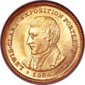 Commemorative Gold, 1904 G$1 Lewis and Clark MS64+ PCGS. CAC....