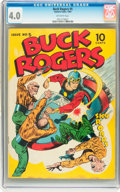 Golden Age (1938-1955):Science Fiction, Buck Rogers #5 (Eastern Color, 1943) CGC VG 4.0 Off-white pages....