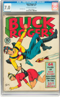 Golden Age (1938-1955):Science Fiction, Buck Rogers #2 (Eastern Color, 1941) CGC FN/VF 7.0 Off-white towhite pages....