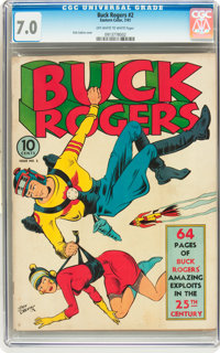 Buck Rogers #2 (Eastern Color, 1941) CGC FN/VF 7.0 Off-white to white pages