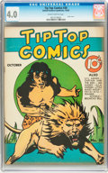 Golden Age (1938-1955):Adventure, Tip Top Comics #30 (United Features Syndicate/Standard, 1938) CGCVG 4.0 Slightly brittle pages....