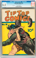 Platinum Age (1897-1937):Miscellaneous, Tip Top Comics #18 (United Features Syndicate/Standard, 1937) CGCFN+ 6.5 Tan to off-white pages....