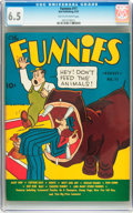 Platinum Age (1897-1937):Miscellaneous, The Funnies #11 (Dell, 1937) CGC FN+ 6.5 Tan to off-white pages....