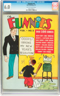 Platinum Age (1897-1937):Miscellaneous, The Funnies #5 (Dell, 1937) CGC FN 6.0 Tan to off-white pages....