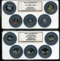 Proof Sets, 2003-S Clad Proof Set PR70 Ultra Cameo NGC. Housed in two large NGC holders.... (Total: 10 coins)