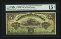 Canadian Currency: , Toronto, ON - The Sterling Bank of Canada $5 April 25, 1906 Ch #700-10-02. ...