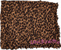 Luxury Accessories:Accessories, Louis Vuitton by Stephen Sprouse Leopard Cashmere & Silk Shawl....