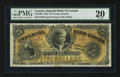 Canadian Currency: , Toronto, ON - Imperial Bank of Canada $5 Jan. 1, 1910 Ch #375-12-06. ...