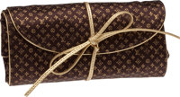 Louis Vuitton Monogram Satin Jewelry Roll